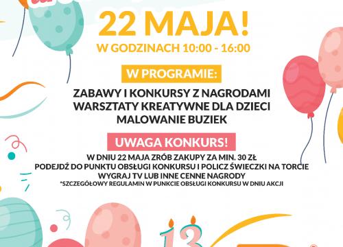 13 Urodziny Galerii Lider!