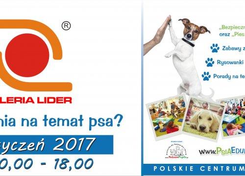 28 stycznia Dogoterapia w Liderze!!