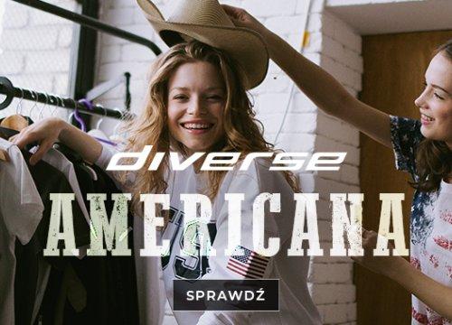 Powitaj wiosnę na swobodnie z DIVERSE ✌ Poczuj luz z naszą nową kolekcją AMERICANA