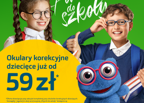 Back to school w Vision Express