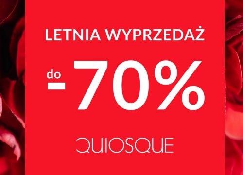 Letnie promocje z marką QUIOSQUE – 70 %
