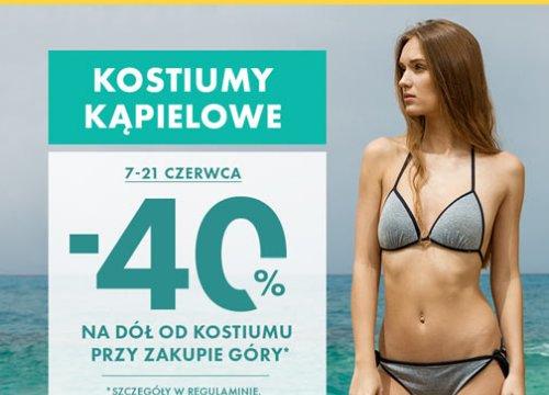 50 style | -40% na dół od kostiumu kąpielowego przy zakupie góry