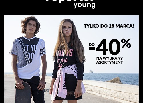 Reporter Young do -40% na wybrany asortyment