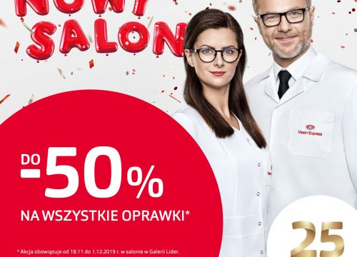 NOWY SALON VISION EXPRESS!