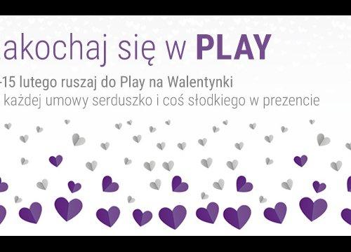Walentynki w Play