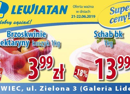 Lewiatan Zaprasza 21.06.-22.06.2019